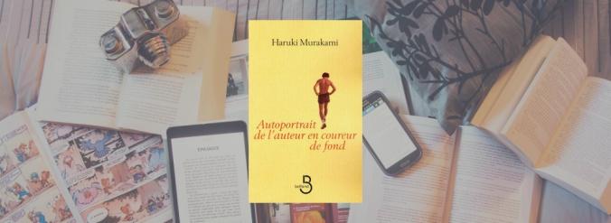 Couverture du livre Autoportrait de l'auteur en coureur de fond de Haruki Murakami.