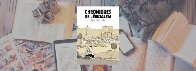 Couverture du livre Chroniques de Jérusalem de Guy Delisle.