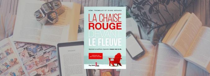 Couverture du livre La chaise rouge de Rémi Tremblay et Diane Bérard.