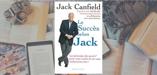 Couverture du livre Le Succès selon Jack, de Jack Canfield.