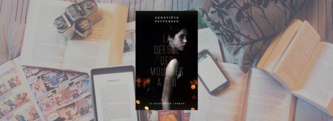 Couverture du livre La déesse des mouches à feu de Geneviève Pettersen.