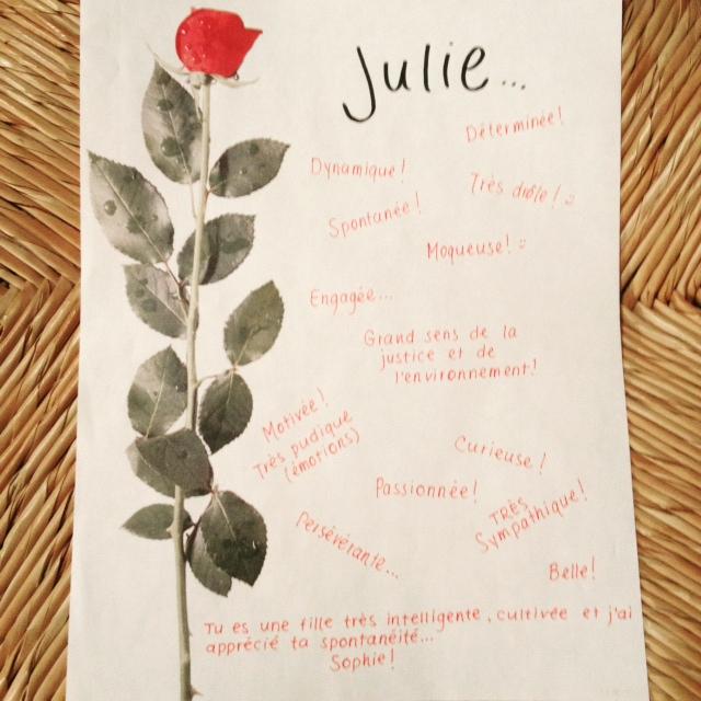 qualites julie