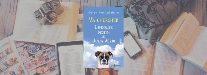 Couverture du livre Va chercher de Geneviève Lefebvre.