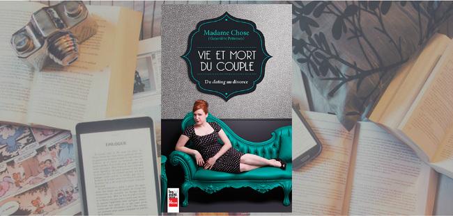 """Couverture du livre """"Vie et mort du couple"""" de Geneviève Pettersen, aux Éditions La Presse."""