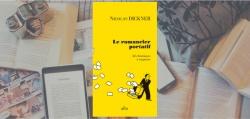 couverture du livre Le romancier portatif de Nicolas Dickner.
