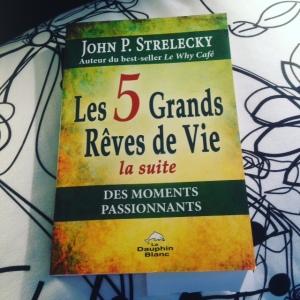 Livre Couverture de 5 Grands Reves de Vie Bigfiveforlife