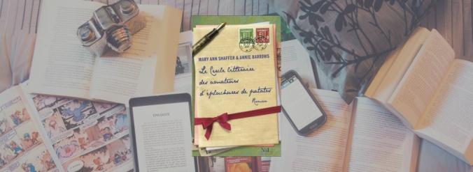 La couverture du livre Le cercle littéraire des amateurs d'épluchures de patates