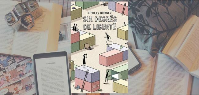 """Couverture du roman """"Six degrés de liberté"""" de Nicolas Dickner."""