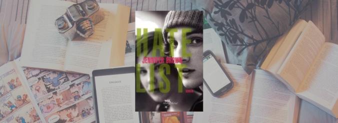 Couverture du livre Hate List de Jennifer Brown.