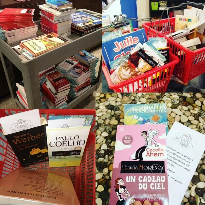 Résumé des activités à la Librairie Morency lors de la première Journée des librairies indépendantes.