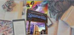 """Couverture du roman """"Bienvenue à Spamville"""" de Dominic Bellavance."""