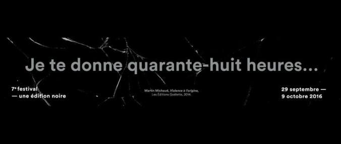 Publicité officielle de Québec en toutes lettres, édition 2016.