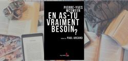 """Couverture du livre """"En as-tu vraiment besoin?"""" de Pierre-Yves McSween"""