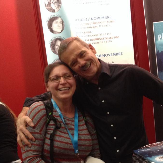 Chris Hadfield + Julielitaulit