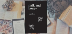 Couverture du livre Milk and honey de Rupi Kaur.