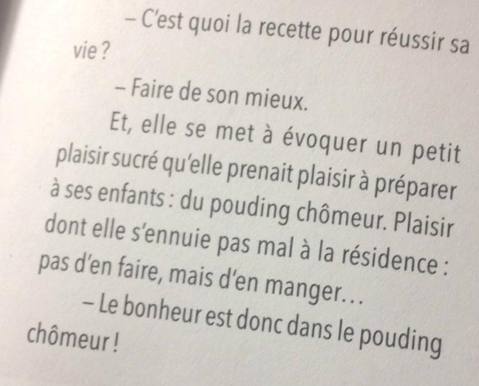 """Un extrait du livre """"Moments (extra) ordinaires"""" : Le bonheur est donc dans le pouding chômeur !"""