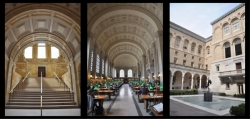 Photos de la Boston Public Library.