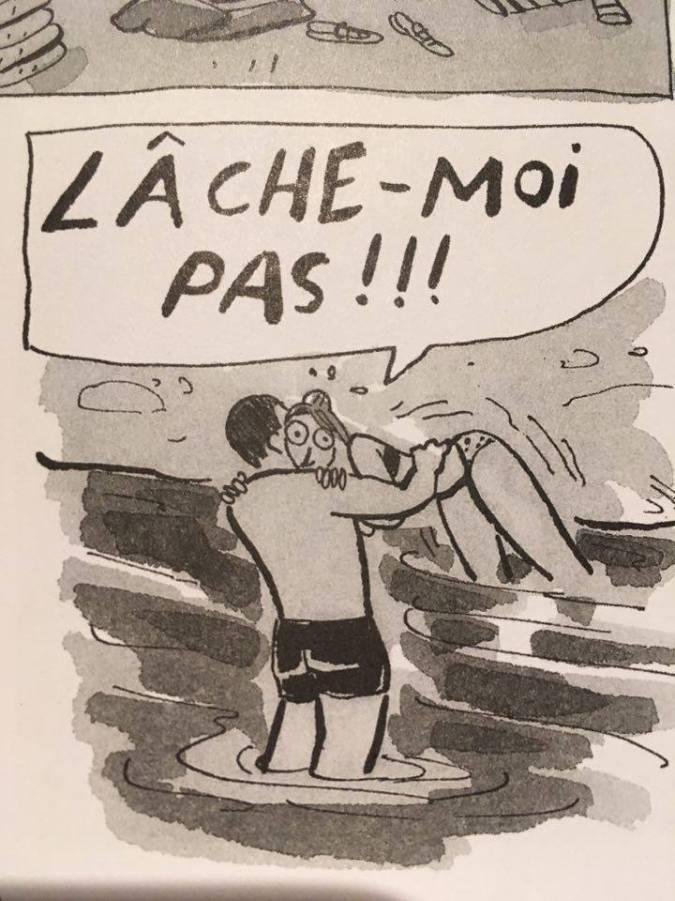 """Extrait de la BD """"Une longue canicule"""" d'Anne Villeneuve, publiée chez Mécanique Générale."""