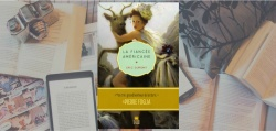 Couverture du roman La fiancée américaine d'Eric Dupont, paru chez Marchand de feuilles.