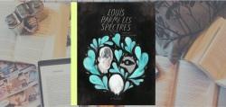 """Couverture de l'album """"Louis parmi les spectres"""" de Fanny Britt et Isabelle Arseneault, paru chez La Pastèque."""
