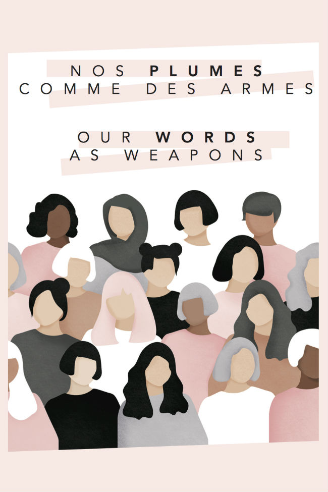 Couverture de Nos plumes comme des armes / Our Words As Weapon.