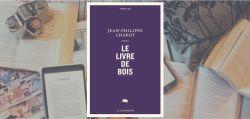 """Couverture du roman """"Le livre de bois"""" de Jean-Philippe Chabot."""