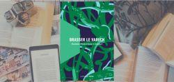 Couverture Brasser le varech de Noémie Pomerleau-Cloutier, publié chez La Peuplade.