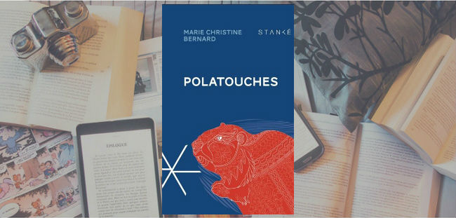 Couverture du roman Polatouches de Marie Christine Bernard.