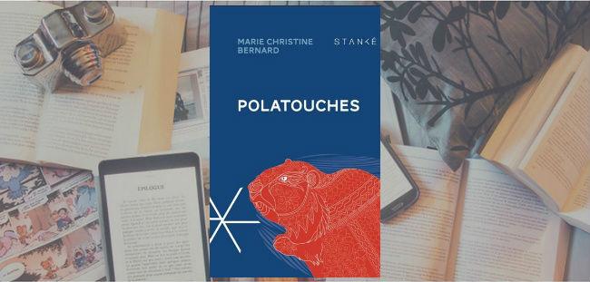 Couverture du roman Polatouches de Marie Christine Bernard.