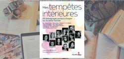 Couverture du livre Mes tempêtes intérieures de Vanessa Beaulieu, chez Guy Saint-Jean Éditeur.