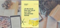 Couverture du roman Je ne suis pas de ceux qui ont un grand génie de Sévryna Lupien, chez Stanké.