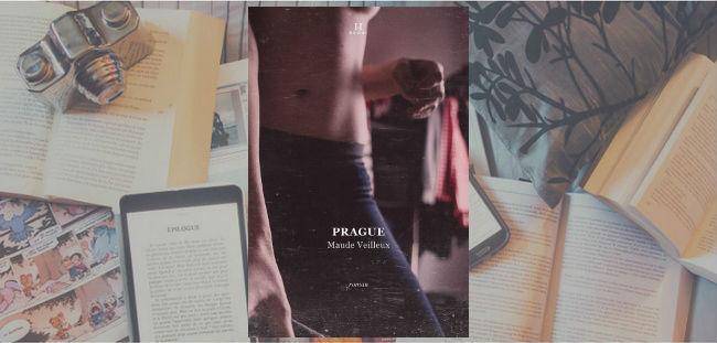 Couverture du roman Prague de Maude Veilleux.