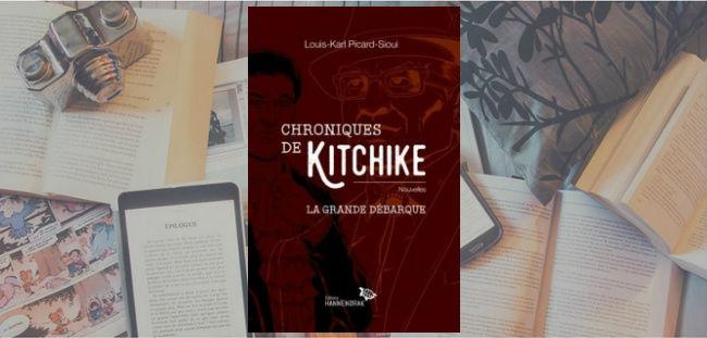 Couverture du recueil de nouvelles Chroniques de Kitchike : la grande débarque de Louis-Karl Picard-Sioui.