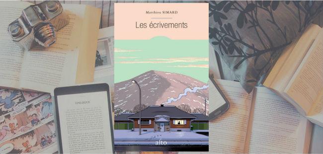 Les écrivements de Matthieu Simard, publié chez Les Éditions Alto.