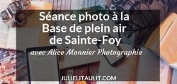 Séance photo à la Base de plein air de Sainte-Foy avec Alice Monnier Photographie.
