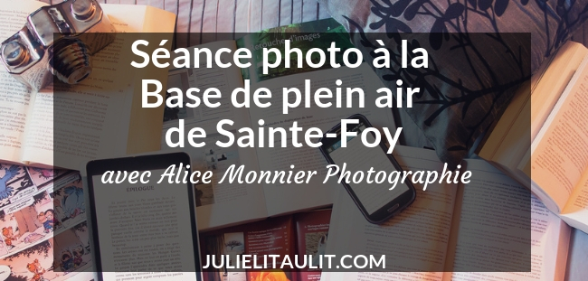 Séance photo à la Base de plein air de Sainte-Foy avec Alice Monnier Photographie.