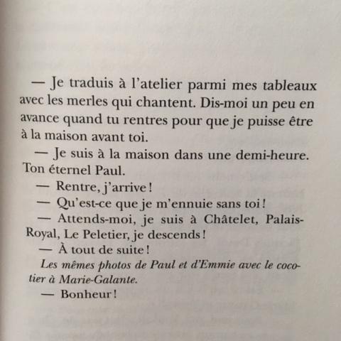 Extrait de Marie-Galante d'Emmelene Landon.