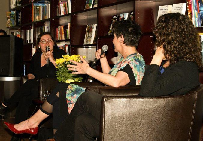 Causerie avec Nathalie Bisson et Mylène Moisan, animée par Julie Collin.